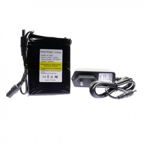 Mini batterie rechargeable 12 volts 4200mAh