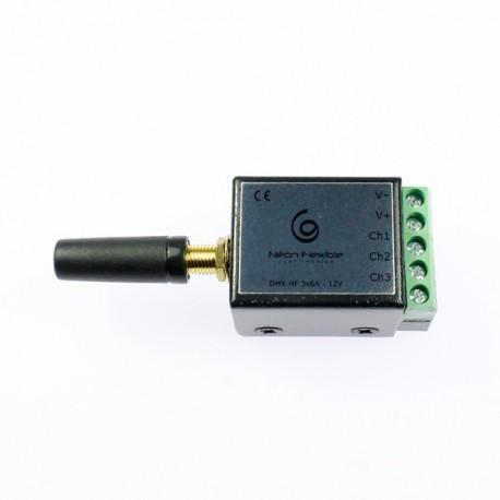 Récepteur DMX sans fil 3 canaux pour ruban led RGB