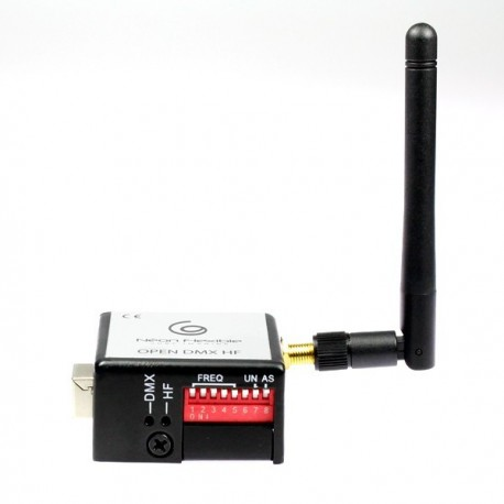 Emetteur DMX sans fil Open DMX avec entrée USB
