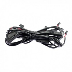 Complete single colored electric wiring for Light1 luminous jacket