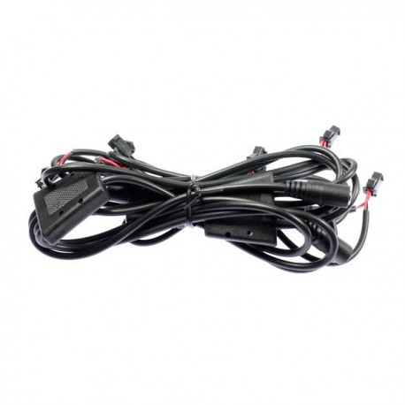 Complete single colored electric wiring for Light1 luminous jacket ...
