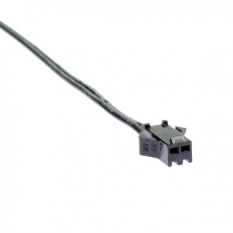 Female connector clip for single colored LED strip