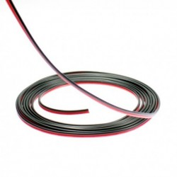 Two-wires electric cable for single colored LED tape. Sold per meter