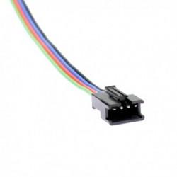 Connecteur à clipser mâle pour bande led RGB