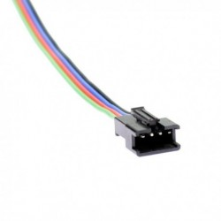 Male connector clip for RGB LED strip