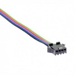 Connecteur à clipser femelle pour bande led RGB