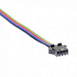 Female connector clip for RGB LED strip