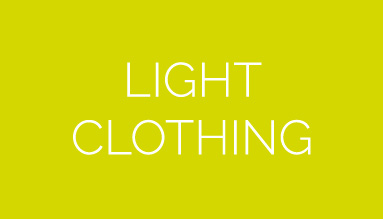 Light clothing for show and security